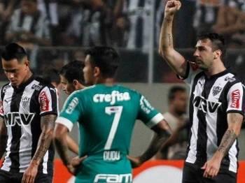 Lucas Pratto Atlético-MG x Palmeiras Campeonato Brasileiro