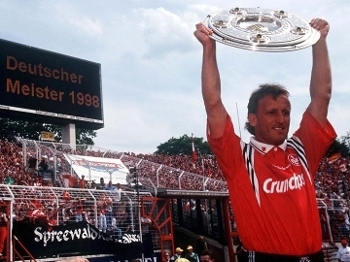 Kaiserslautern - campeão alemão em 1998