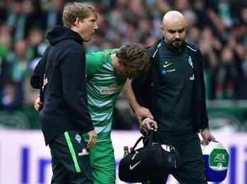 Fritz se machucou contra o Darmstadt e saiu ainda no 1º tempo