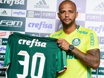 Felipe Melo Apresentação Palmeiras 17/01/2017