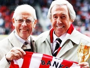 Peter Coates Gordon Banks Homenagem Stoke City 12/05/2013