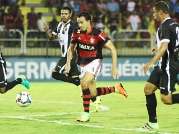 Leandro Damião Flamengo Resende Campeonato Carioca 18/03/2017
