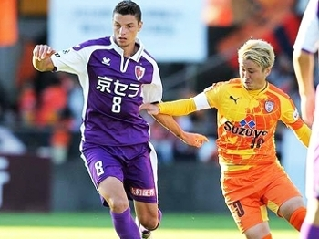 Andrei Girotto Kyoto Sanga Campeonato Japones
