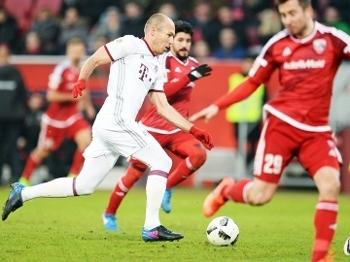 Robben Bayern Ingolstadt Campeonato Alemão 11/02/2017