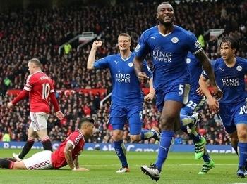 Morgan comemora após marcar contra o United