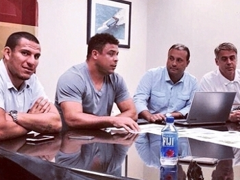 Caio Zanardi Strikers Ronaldo Futebol EUA Divulgação