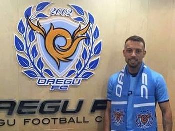 Paulo Sérgio Daegu Apresentação Futebol Coreia