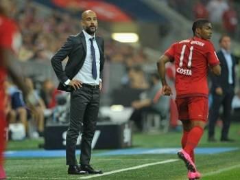 Guardiola Bayern de Munique x Hamburgo Campeonato Alemão Bundesliga