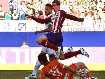 Fernando Torres Atlético de Madri Granada Futebol Campeonato Espanhol 17/04/2016