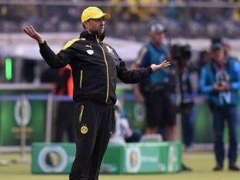 Klopp fez a sua despedida do comando do Borussia Dortmund neste sábado