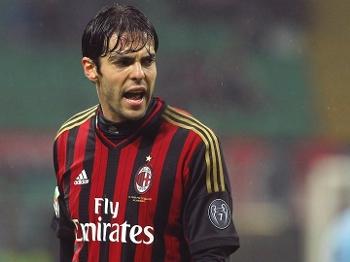 Kaká é ídolo da torcida do Milan