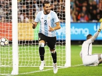 Mercado Comemora Gol Argentina Brasil Amistoso 09/06/2017
