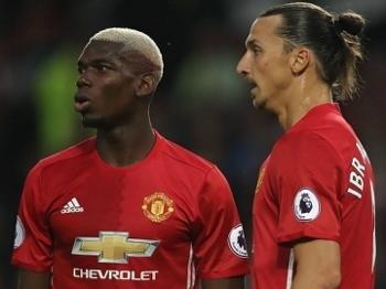 Pogba e Ibrahiomvic foram as duas principais contratações do United na temporada