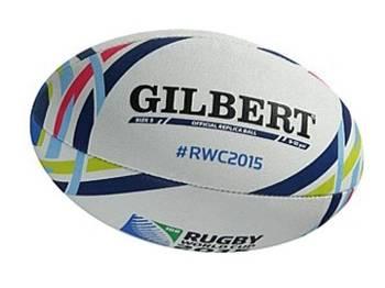 A bola da Copa do Mundo de Rugby 2015