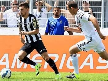 Lucas Lima Santos Ponte Preta Futebol Brasileiro