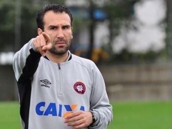 Sérgio Vieira no sub-23 do Atlético-PR