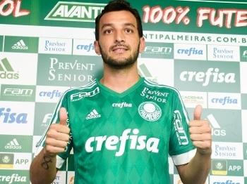 Edu Dracena Apresentação Palmeiras 06/01/2016