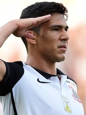 Balbuena anotou seu primeiro gol com a camisa do Corinthians
