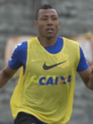 Emerson e Cachito Ramirez em treino do Corinthians