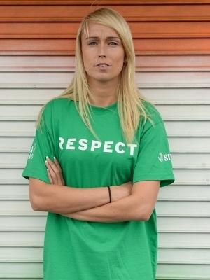 As jogadoras da seleção da Irlanda pedem respeito