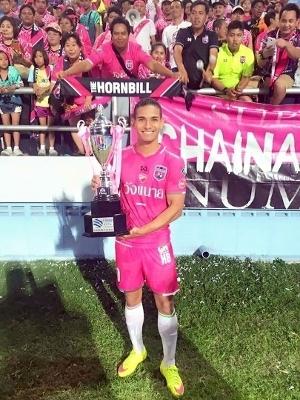 Campeão FA Cup na Tailândia - 2016