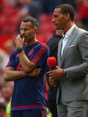 Ferdinand e Giggs foram companheiros no United