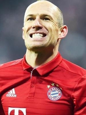Robben Bayern Wolfsburg Copa da Alemanha 07/02/2017