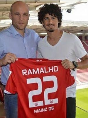 André joga pelo Mainz 05