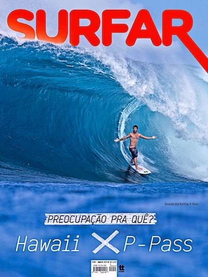 Ricardinho na Capa da revista Surfar