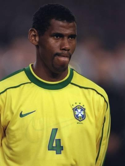 Aldair - Jogador de futevôlei, defendendo as cores do Flamengo na Liga Nacional de Futevôlei