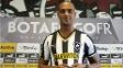 Atacante Tássio em sua apresentação pelo Botafogo, em 9 de janeiro de 2015