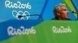 Lochte em entrevista no Rio: vítima de assalto após participação nos Jogos Olímpicos