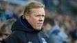 Ronald Koeman, holandês que comanda o Everton