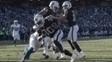 SaQwan Edwards anota touchdown no Oakland Coliseum
