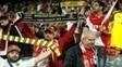 Torcida do Monaco prestou solidariedade ao Borussia Dortmund