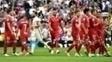 Nacho fez gol polêmico e deixou jogadores do Sevilla reclamando