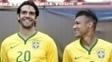 Kaká falou em tom elogioso sobre Neymar