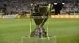 Troféu da Copa do Brasil em jogo no Allianz Parque