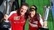 James Allison ao lado de Sebastian Vettel