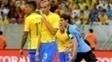 Zagueiro disse que defesa não esteve bem no empate com Uruguai