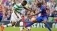 Marlon em ação durante a pré-temporada do Barcelona