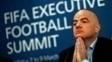 Gianni Infantino, presidente da Fifa, em entrevista coletiva