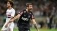 Lucas Pratto em ação pelo Atlético-MG na última temporada
