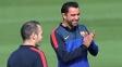 Xavi e Iniesta foram companheiros na seleção e no Barcelona