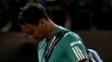 Fabio Fognini abandonou a disputa do Rio Open nesta quarta-feira