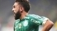 Allione comemora gol pelo Palmeiras durante a Libertadores