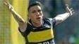 No domingo, Centurión foi um dos destaques da vitória do Boca sobre o Sarmiento