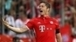 Lewandowski comemora gol sobre o Werder
