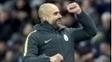 Guardiola tem tido dificuldade no comando do Manchester City