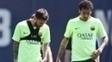 Neymar e Messi ainda não se reapresentaram ao Barcelona